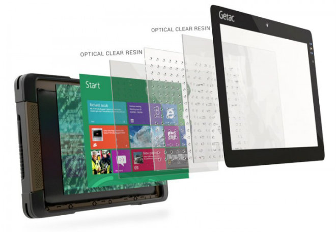GETAC T800 Rugged Tablet Computer