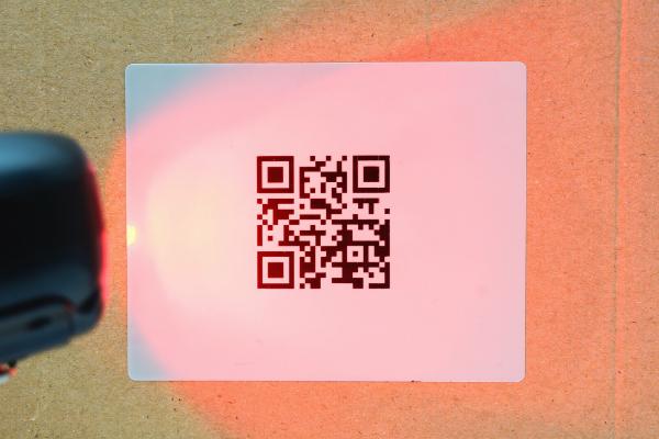 Scannen eines QR-Codes