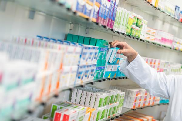 Auch in Apotheken kommt der Datalogic Memor X3 Healthcare zum Einsatz