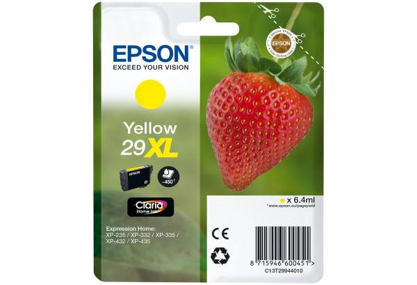 Epson 29XL XL Gelb C13T29944020