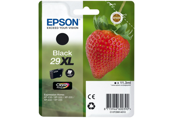 Epson 29XL XL Schwarz C13T29914020