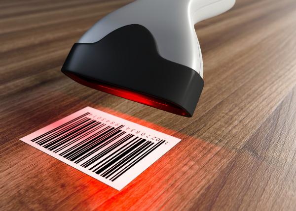 Wareneingangskontrolle mit Scanner