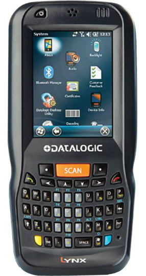 Datalogic Lynx - Datenerfassungsterminal - Win Embedded Handheld 6.5 - 512 MB - 6.9 cm