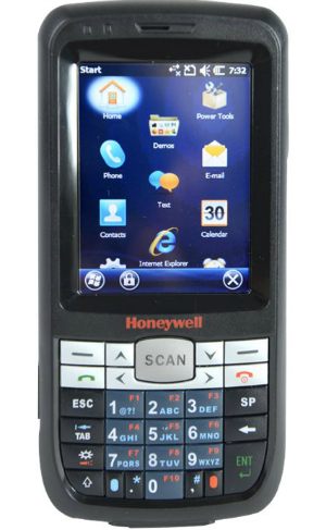 HONEYWELL Dolphin 60s Scanphone - Datenerfassungsterminal - Win Embedded Handheld 6.5 Pro - 512 MB - 7.1 cm