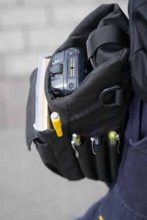 Scanner in einer Tasche