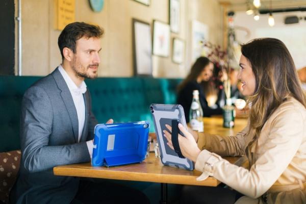 Targus SafePORT Rugged Schutzhuelle fuer Tablet widerstandsfaehig Polycarbonat, Thermoplastisches Polyurethan (TPU) THD20002GL
