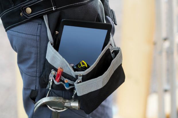 Je nach Einsatzort benötigt man die passende Werkzeugtasche
